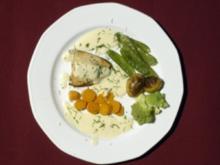 Kreidesee-Saibling mit Baby-Gemüse und Rosmarin-Kartoffeln (Lilo Wanders) - Rezept