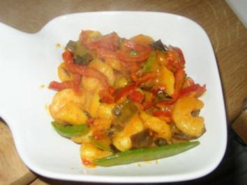 Garnelen-Cocos-Curry - Rezept