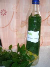 Melissenlikör - Rezept