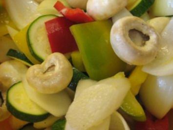 Gemüsespieße gegrillt - Rezept