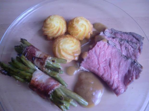 Roastbeef Zubereitung - Rezept - Bild Nr. 2
