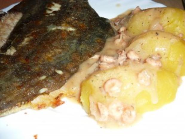 Fisch: Scholle gebraten mit Krabbensoße - Rezept - Bild Nr. 13