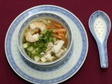 Sate- und Garnelenspieße mit Mie-Nudeln (Uschi Nerke) - Rezept