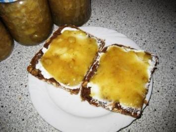 Bananen- Fruchtaufstrich - Rezept
