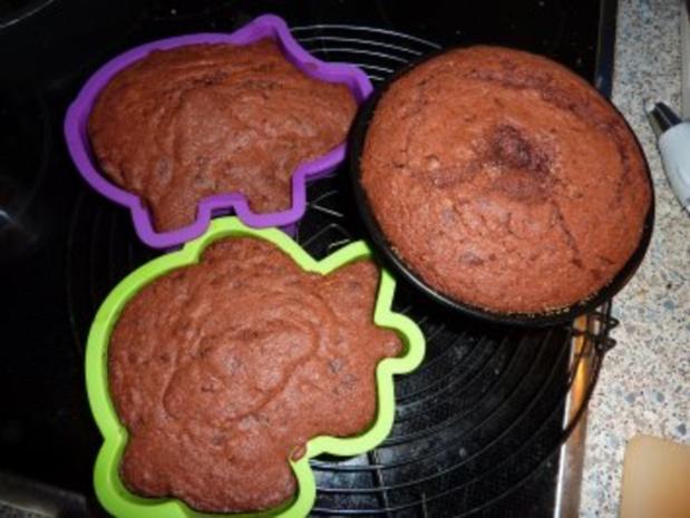Kuchen: Schoko-Minigugelhupf - Rezept - Bild Nr. 4
