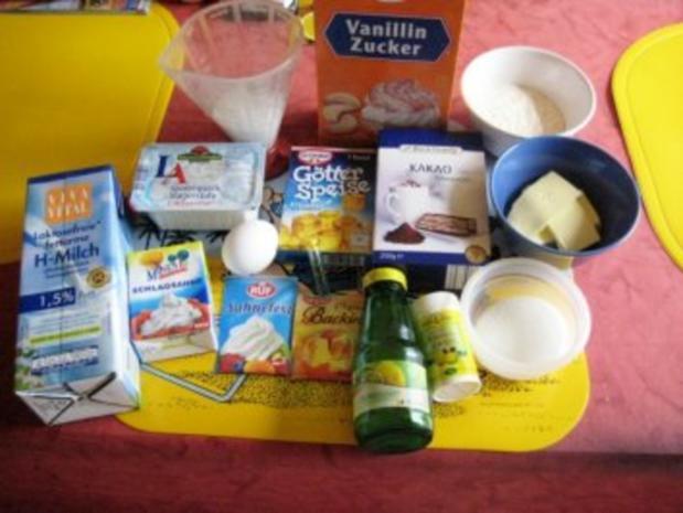 Quark- Zitronen - Torte - Rezept - Bild Nr. 2