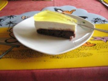 Quark- Zitronen - Torte - Rezept