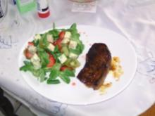 Exotischer Feldsalat - Rezept