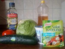 Griechischer Salat etwas anders - Rezept
