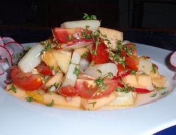 *Spargel*-Schlemmersalat mit einer fruchtigen Note - Rezept