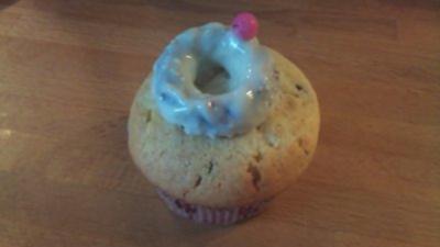 Muffins mit Verlobungsring-Topping - Rezept