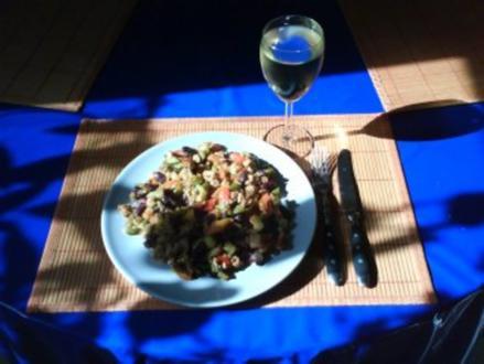 Vegetarisch: Tofupfanne mit Gemüse - Rezept