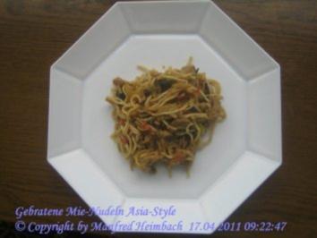 Nudeln – Gebratene Mie-Nudeln Asia Style - Rezept