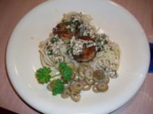 Jakobsmuscheln auf Spaghetti Neste - Rezept