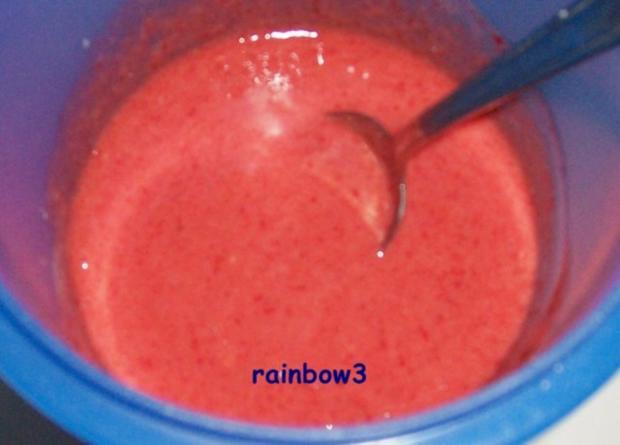 Dessert: Erdbeer-Balsamico-Eis - Rezept - Bild Nr. 3