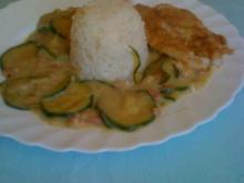 Zucchini  Fisch-Pfanne - Rezept - Bild Nr. 3