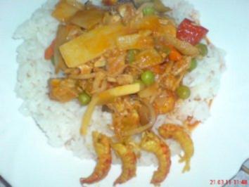 Chinesisch süß-sauer im Wok - Rezept