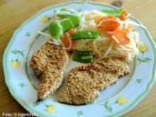 Putenschnitzel im Sesammantel - Rezept