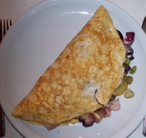 Bauernfrühstück-Omlette - Rezept