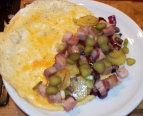 Bauernfrühstück-Omlette - Rezept - Bild Nr. 4