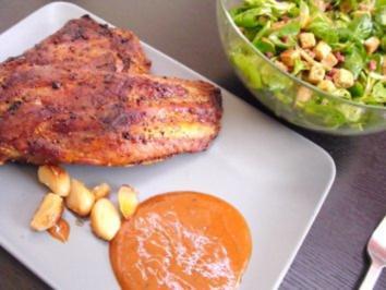 Gegrillte Spare ribs und Vogerlsalat - Rezept