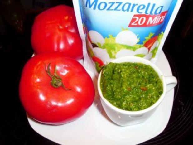 Pizza: Bärlauch-Margarita - Rezept - Bild Nr. 2