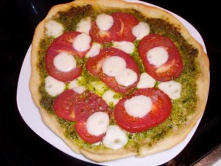 Pizza: Bärlauch-Margarita - Rezept