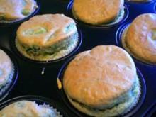 Spargel - (Schinken) -  Muffins - Rezept