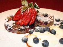Frittata ai frutti di Bosco - Rezept