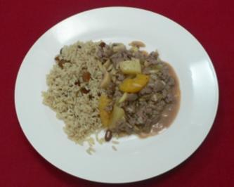 Indonesisches Filetgulasch mit Curryreis (Georg Uecker) - Rezept