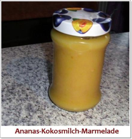 Ananas-Kokos-Marmelade - Rezept - Bild Nr. 3