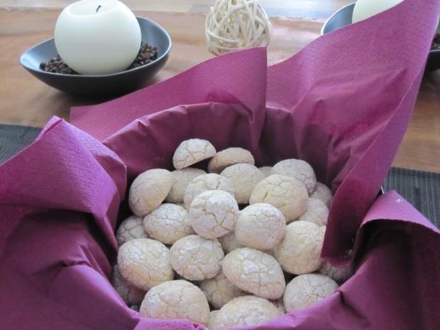 Amarettini Kekse - Rezept