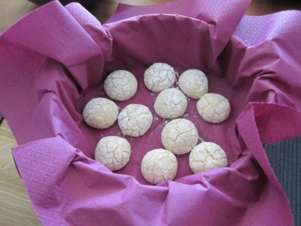 Amarettini Kekse - Rezept - Bild Nr. 6