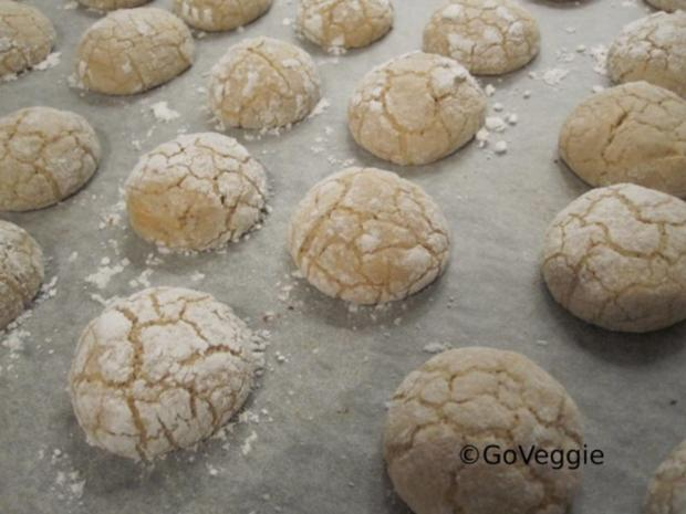 Amarettini Kekse - Rezept - Bild Nr. 3