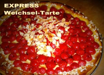 EXPRESS Weichsel-Tarte - Rezept