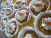 Möhren Cupcakes - Rezept