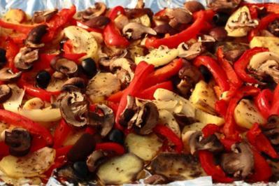 Mediterrane Ofenkartoffeln - Rezept