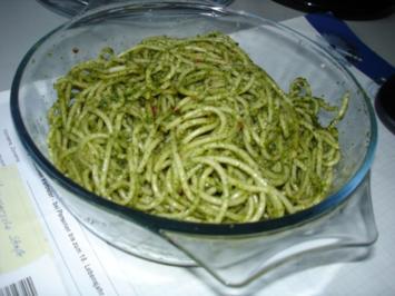 Spagetti mit Thai Pesto - Rezept