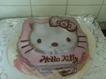 Hello KItty Kuchen ! Motivbackform - Rezept