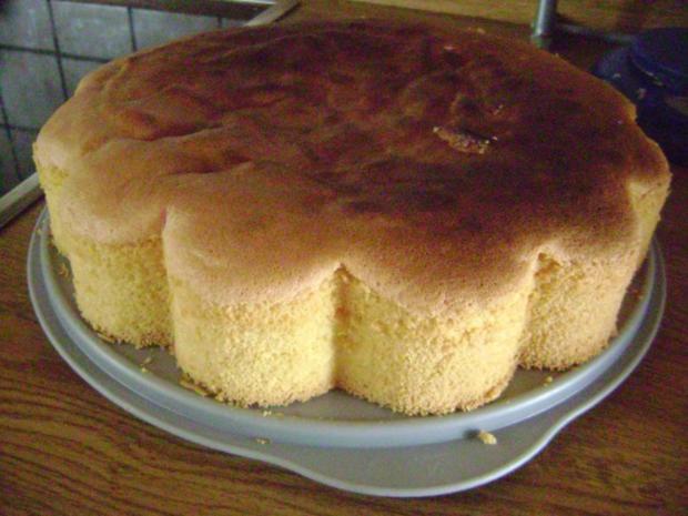 Bisquitboden hoch - Biskuit - Bisquit - Tortenboden hell oder dunkel - wie vom Bäcker - Rezept - Bild Nr. 8