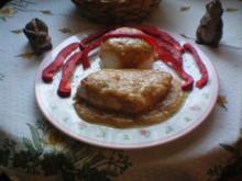 Hähnchenbrust mit Erdnuss-Sahne-Sauce - Rezept