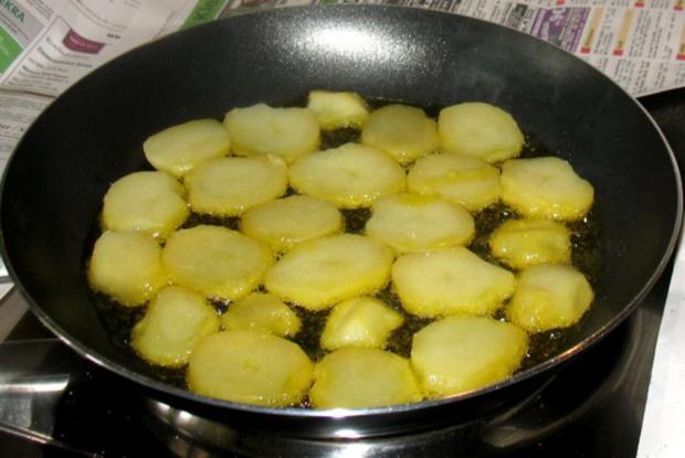 Kartoffeln - Röstkartoffeln von gekochten Kartoffeln - Rezept - Bild Nr. 3