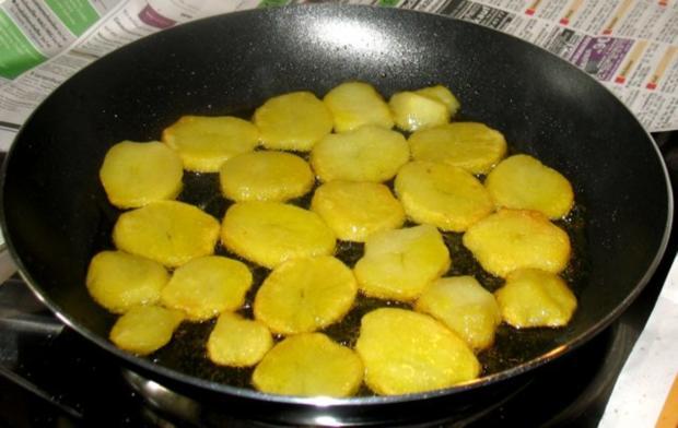 Kartoffeln - Röstkartoffeln von gekochten Kartoffeln - Rezept - Bild Nr. 4