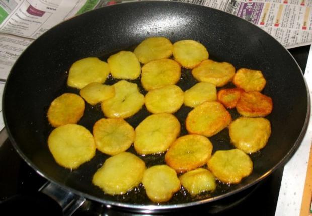 Kartoffeln - Röstkartoffeln von gekochten Kartoffeln - Rezept - Bild Nr. 5