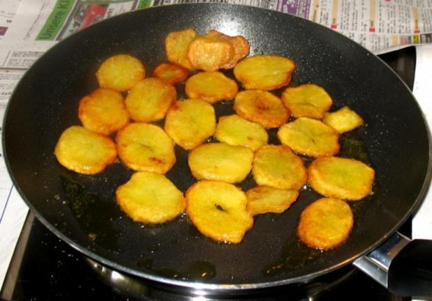 Kartoffeln - Röstkartoffeln von gekochten Kartoffeln - Rezept - Bild Nr. 6