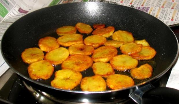 Kartoffeln - Röstkartoffeln von gekochten Kartoffeln - Rezept - Bild Nr. 7