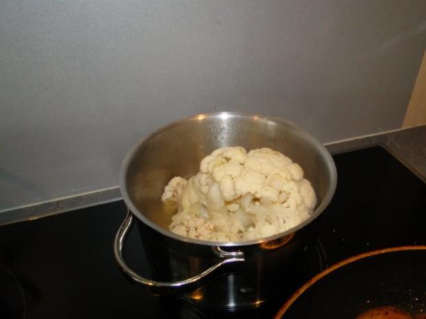 Frischen Spargel in Kresseschaumsösschen mit Lachs und gebratenen Drillingen - Rezept - Bild Nr. 10