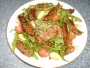 Bohnen - Steak - Salat - Rezept