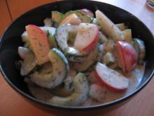 Gurken-Radieschen-Salat - Rezept