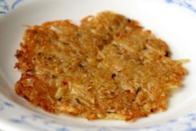 Zucchinirösti mit Kräuterdip - Rezept